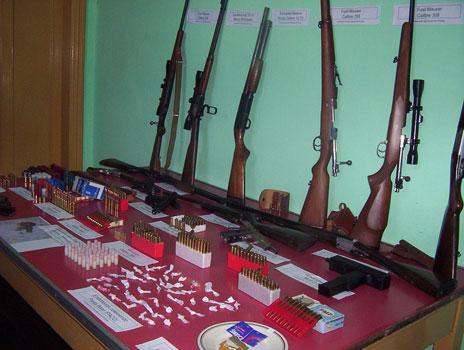 Ocho detenidos por vender armas y droga en Tigre
