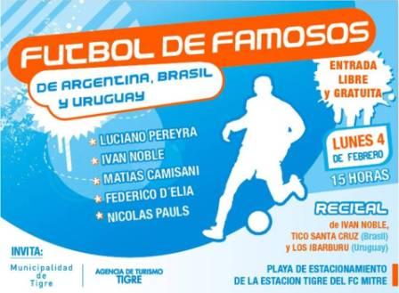 Fútbol y Famosos en Tigre