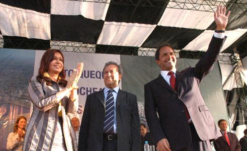 Cristina resalta el rol del estado activo en la economía.