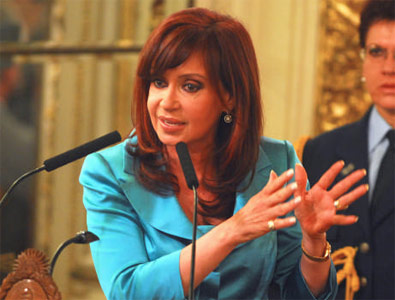 Cristina convoca a la responsabilidad social y del estado.