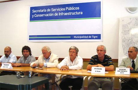 Los delegados municipales de Tigre informaron lo realizado hasta el 31 de enero.