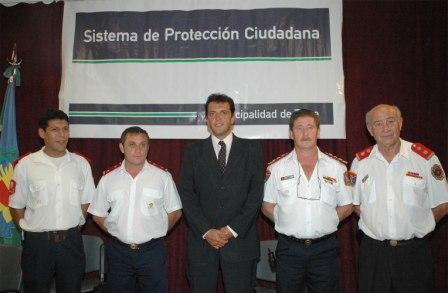Sergio Massa otorgó 710.000 pesos para el funcionamiento de los bomberos