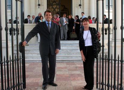 Sergio Massa presento la nueva gestión del Museo de Arte de Tigre