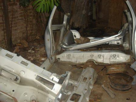 Desbaratan bandas delictivas en el barrio El Zorzal, y desarmadero de autos