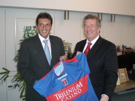 Sergio Massa se reunió con el intendente de Wolfsburgo