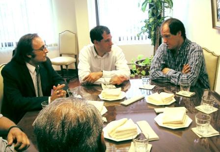 El diputado Nacional Ariel Basteiro se reunió con el Presidente del Concejo Deliberante de Tigre