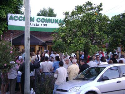 Acción Comunal inauguró nuevo local en Tigre centro