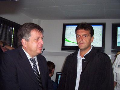Massa y Stornelli inauguraron la nueva oficina de la secretaría de protección ciudadana