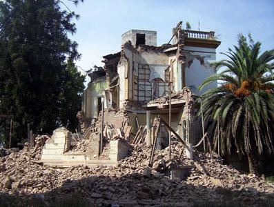 Demolicióm de la ex Sede de Tigre