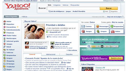 Yahoo! apura los cambios de su nueva pagina que promete novedosas herramientas