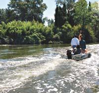 Preocupación entre los vecinos del Delta por la contaminación del agua