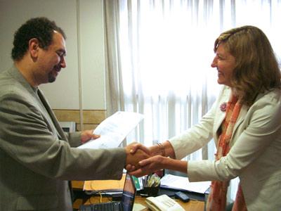 Leticia Villalba presentó ante autoridades del Organismo Provincial para el Desarrollo Sostenible (OPDS) el Programa Guía de Gestión Integral de Residuos Sólidos Urbanos