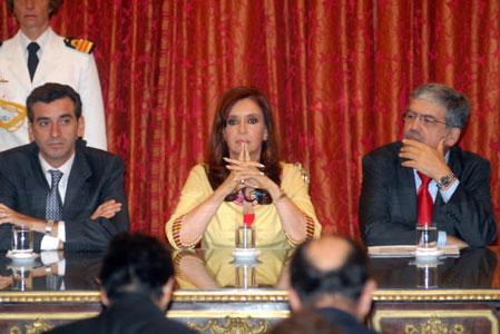 Randazo, Cristina Fernández, De Vido