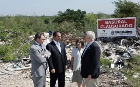 La Provincia cerró un nuevo Basural en San Martín