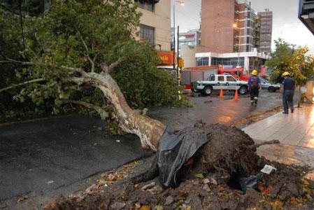 Se estabiliza la situación en el conurbano luego del temporal