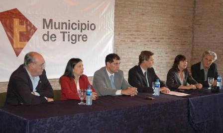 Presentan la comisión de recuperación y ampliación del patrimonio histórico y cultural de Tigre