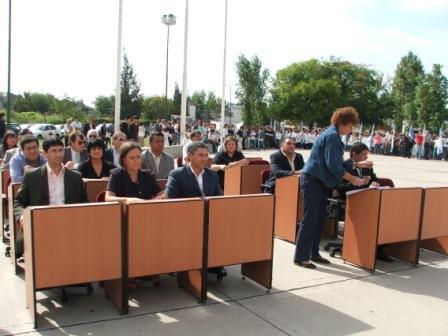Sesión del HCD, en el Parque del Bicentenario