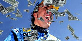 Alonso es el mejor pago de la categoria