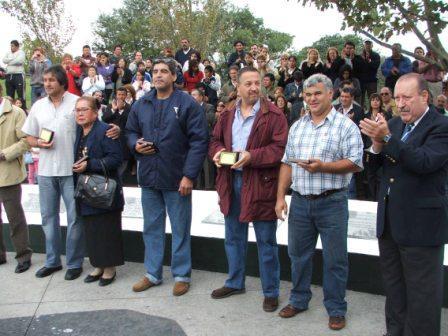 San Fernando homenajeó a los ex combatientes de la gesta de Malvinas