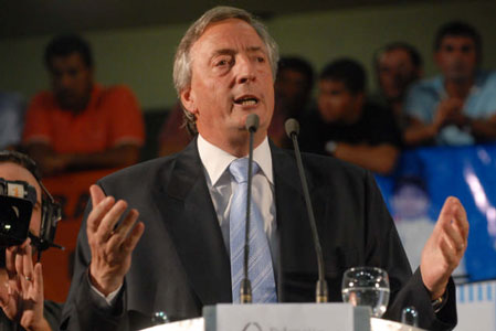 El ex presidente Nestor Kirchner