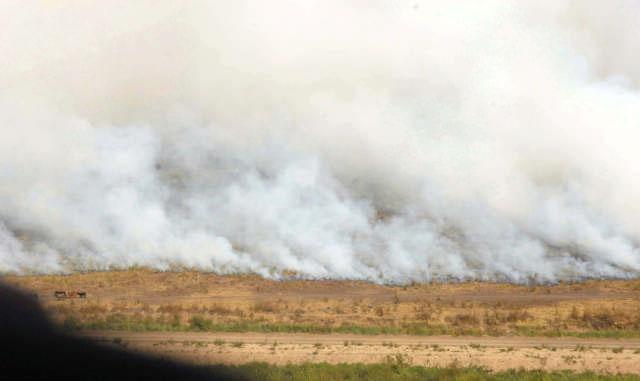 Gobernadores analizaran medidas contra quema de pastizales