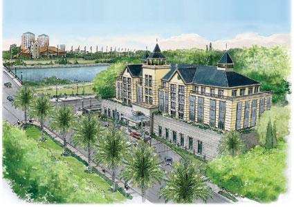 Proyectan la construcción del nuevo Tigre Hotel