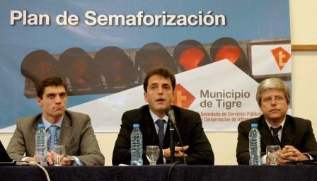 Massa lanzó Plan de Semaforización para Tigre
