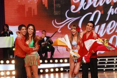 Victoria Vanucci y Eliseo Álvarez se quedaron afuera de Bailando por un sueño