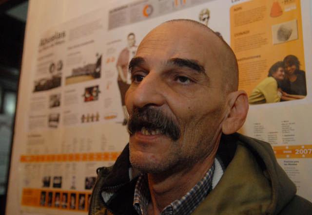 El dirigente de derechos humanos y titular de la Casa de la Memoria de Zárate Juan Evaristo Puthod