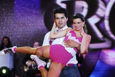 Belén Tellez debutó en Bailando por un sueño