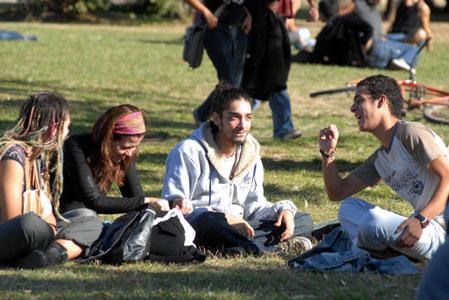 Marcha por la legalización del consumo de marihuana