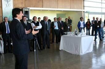 Con motivo del Día del Trabajador, el intendente Posse agasajó a los  representantes de los distintos sindicatos  y de la CGT de la zona Norte