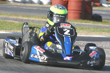 Juan Pablo Casella: Primera experiencia con un 125cc