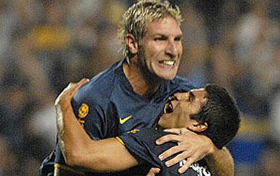 Boca le ganó al Cruzeiro y se metió en los cuartos de final