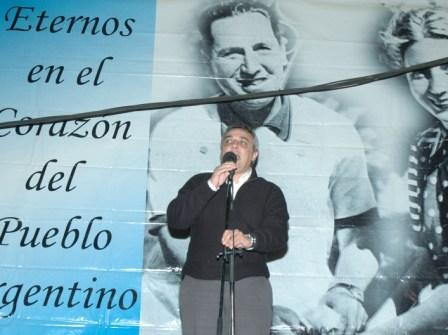 Homenaje de PJ de Tigre a Eva Perón