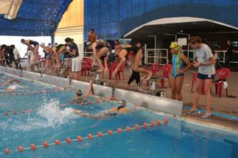 Más de 1300 nadadores se dieron cita en San Isidro