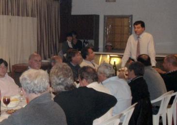 Reunión de Camaradería de Instituciones Intermedias del distrito junto al Presidente del HCD de Tigre