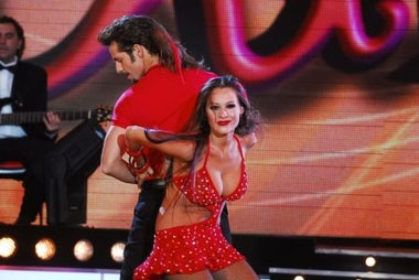 Pampita se retiró indignada del Bailando po un Sueño