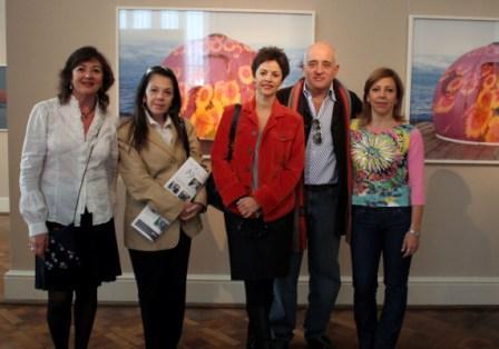 El Museo de Arte de Tigre inauguro la muestra de Canadá a la antártida