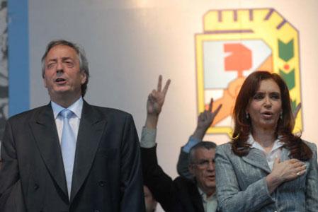 Kirchner asumió como presidente del Justicialismo