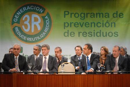 Scioli lanza programa de prevención de residuos