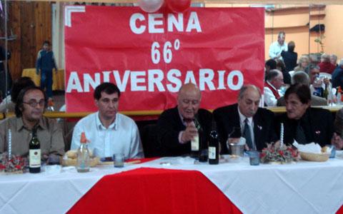El Presidente del HCD de Tigre, presente en un nuevo aniversario del Club Atlético y Social Estudiantes de Solís