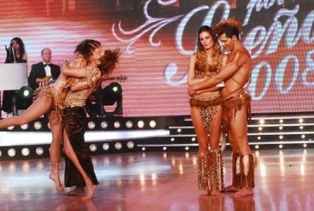 Dolores Barreiro y Pier Fritzscher quedaron eliminados en Bailando por un sueño