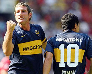 Boca goleó al Atlas y es semifinalista de la Copa