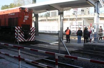 Habilitaron un nuevo cruce peatonal de vías en la estación de Boulogne