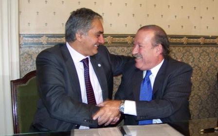 La Municipalidad de San Fernando y ARBA firmaron un convenio de colaboración