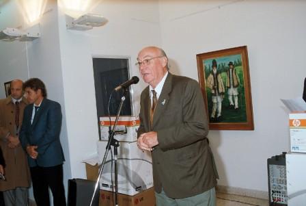Las palabras de bienvenida del titular del Cuerpo, Concejal Rubén Vecci