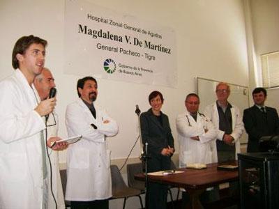 Diez  médicos especialistas se graduaron en el hospital de Pacheco