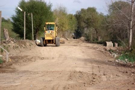 La Subsecretaria de Servicios Públicos de la Municipalidad de Tigre informó el avance de los trabajos de mejora de los caminos de Villa La Ñata