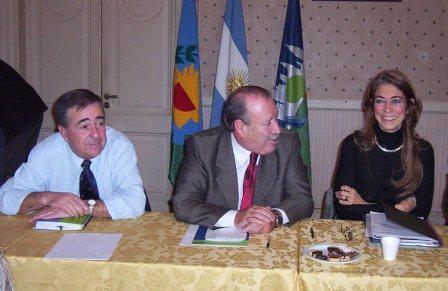 El Intendente de San Fernando, Osvaldo Amieiro, recibió a la Ministra de Asuntos Agrarios y Producción  de la Provincia de Buenos Aires, Débora Giorgi